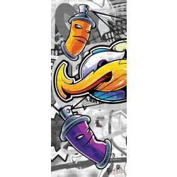Graffiti öntapadós poszter, fotótapéta 2295SKT /91x211 cm/
