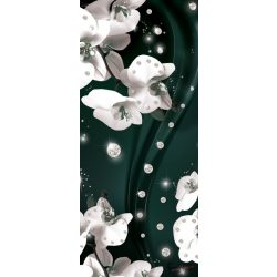 Virág minta öntapadós poszter, fotótapéta 2310SKT /91x211 cm/