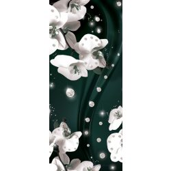 Virág minta vlies poszter, fotótapéta 2310VET /91x211 cm/
