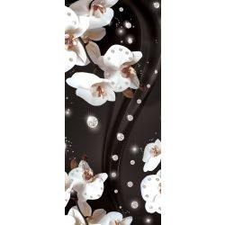 Virág minta vlies poszter, fotótapéta 2311VET /91x211 cm/