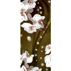 Virág minta vlies poszter, fotótapéta 2312VET /91x211 cm/