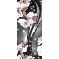 Virág minta öntapadós poszter, fotótapéta 2313SKT /91x211 cm/