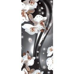 Virág minta vlies poszter, fotótapéta 2313VET /91x211 cm/