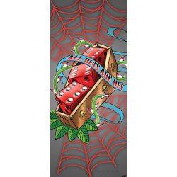 Kockák öntapadós poszter, fotótapéta 2325SKT /91x211 cm/