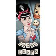Lucky Bones öntapadós poszter, fotótapéta 2373SKT /91x211 cm/