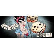 Lucky Bones vlies poszter, fotótapéta 2373VEP /250x104 cm/