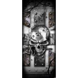 Koponya öntapadós poszter, fotótapéta 2377SKT /91x211 cm/