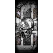 Koponya vlies poszter, fotótapéta 2377VET /91x211 cm/