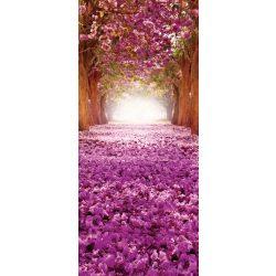 Virágzó fák vlies poszter, fotótapéta 2378VET /91x211 cm/