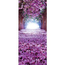 Virágzó fák öntapadós poszter, fotótapéta 2379SKT /91x211 cm/