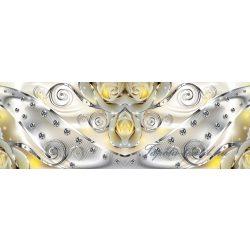 Gyémánt minta vlies poszter, fotótapéta 2493VEEXXXL /832x254 cm/