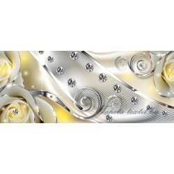 Virág minta poszter, fotótapéta 2493VEP /250x104 cm/