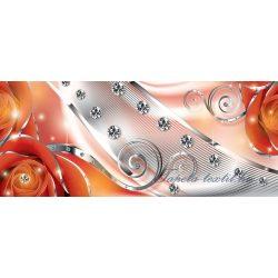 Virág minta poszter, fotótapéta 2495VEP /250x104 cm/