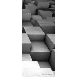 Absztrakt 3D vlies poszter, fotótapéta 2504VET /91x211 cm/