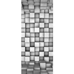Absztrakt 3D vlies poszter, fotótapéta 2505VET /91x211 cm/