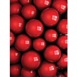 3D golyók vlies poszter, fotótapéta 2507VE-A /206x275 cm/