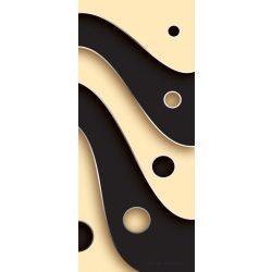 Absztrakt minta öntapadós poszter, fotótapéta 2611SKT /91x211 cm/