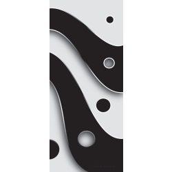 Absztrakt minta öntapadós poszter, fotótapéta 2612SKT /91x211 cm/