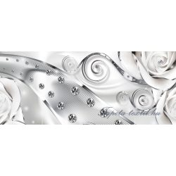 Absztrakt virág minta poszter, fotótapéta 2613VEP /250x104 cm/
