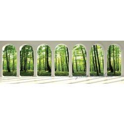 Erdő a boltíveken át vlies poszter, fotótapéta 2676VEEXXL /624x219 cm/
