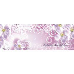 Virág minta vlies poszter, fotótapéta 2714VEEXXL /624x219 cm/