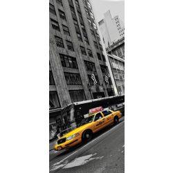 Sárga taxi öntapadós poszter, fotótapéta 2766SKT /91x211 cm/