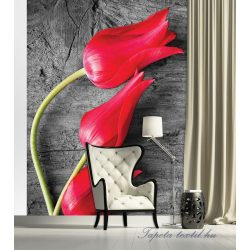 Tulipánok vlies poszter, fotótapéta 282VE-A /206x275 cm/