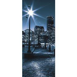 Éjszakai város vlies poszter, fotótapéta 283VET /91x211 cm/