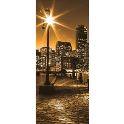 Éjszakai város vlies poszter, fotótapéta 285VET /91x211 cm/