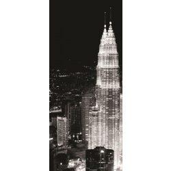 Felhőkarcolók az éjszakában öntapadós poszter, fotótapéta 286SKT /91x211 cm/