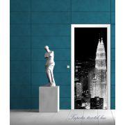 Felhőkarcolók az éjszakában vlies poszter, fotótapéta 286VET /91x211 cm/