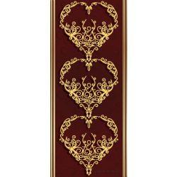 Barokk minta vlies poszter, fotótapéta 2860VET /91x211 cm/