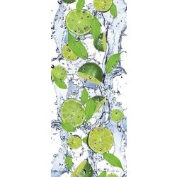 Lime öntapadós poszter, fotótapéta 288SKT /91x211 cm/