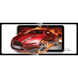 Lángoló autó vlies poszter, fotótapéta 294VEP /250x104 cm/