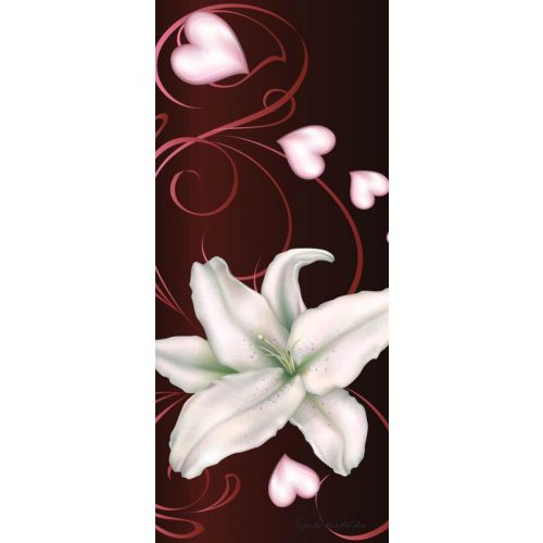 Virág minta vlies poszter, fotótapéta 298VET /91x211 cm/