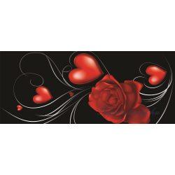 Virág minta poszter, fotótapéta 299VEP /250x104 cm/