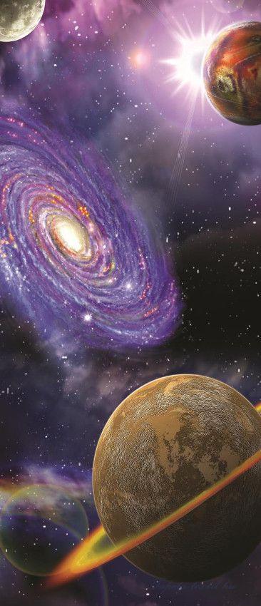 Univerzum öntapadós poszter, fotótapéta 309SKT /91x211 cm ...