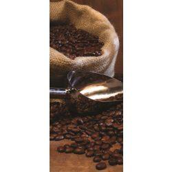 Kávé vlies poszter, fotótapéta 334VET /91x211 cm/