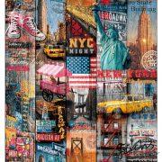 d-c-fix Manhattan öntapadós tapéta 45 cm x 2 m