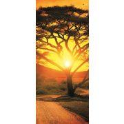 African Sunset vlies poszter, fotótapéta 400VET /91x211 cm/
