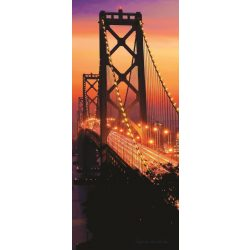 Golden Gate Bridge vlies poszter, fotótapéta 418VET /91x211 cm/
