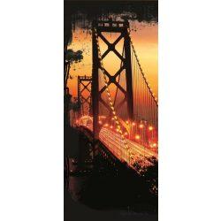 Golden Gate Bridge öntapadós poszter, fotótapéta 422SKT /91x211 cm/