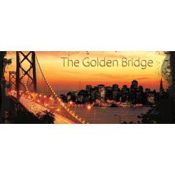Golden Gate Bridge poszter, fotótapéta 422VEP /250x104 cm/