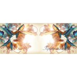 Kolibrik poszter, fotótapéta 423VEP /250x104 cm/