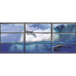 Delfin az ablakon át vlies poszter, fotótapéta 441VEEXXL /624x219 cm/