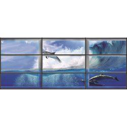 Delfin az ablakon át vlies poszter, fotótapéta 441VEEXXXL /832x254 cm/