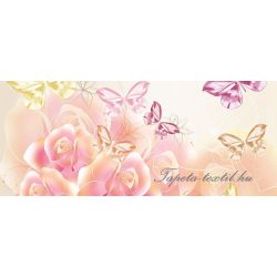 Virágok vlies poszter, fotótapéta 543VEP /250x104 cm/