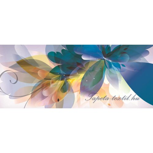 Virág minta vlies poszter, fotótapéta 549VEP /250x104 cm/