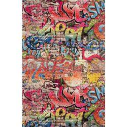 Graffitti mintás tapéta