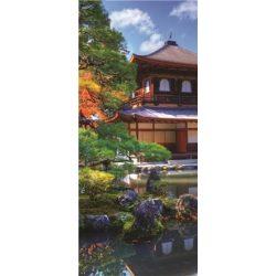 Japán kert öntapadós poszter, fotótapéta 653SKT /91x211 cm/